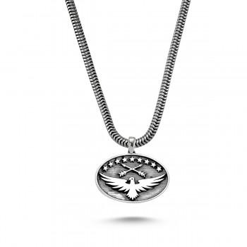 Kartal Sembol Erkek Gümüş Kolye MY01025