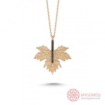 Çınar Yaprağı Gümüş Kolye MY0301046