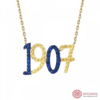 Fenerbahçe 1907 Gümüş Kolye MY101351