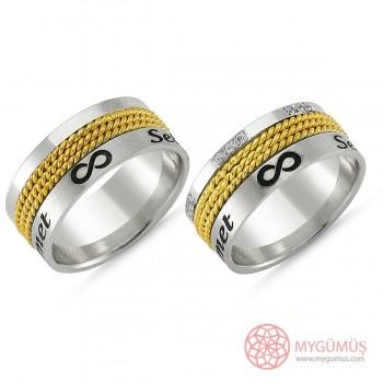 Gümüş Alyans MYA1008