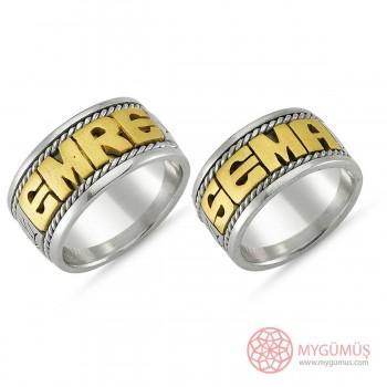 Gümüş Alyans MYA1009