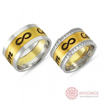 Gümüş Alyans MYA1010