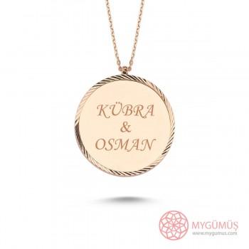 İsme Özel Elegant Gümüş Kolye MY101667