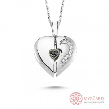 Özel Tasarım İsimli Kalp Kolye MY0301043S