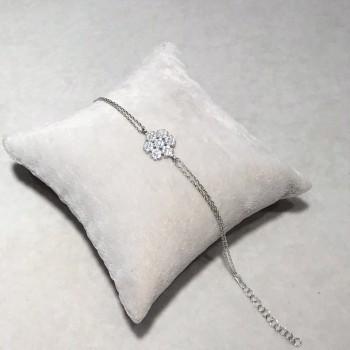 Kar Tanesi Gümüş Bileklik MY102101