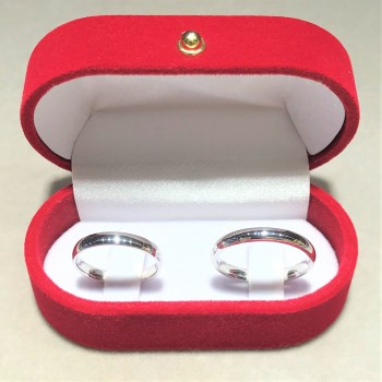 Klasik Gümüş Alyans 3mm MY102354
