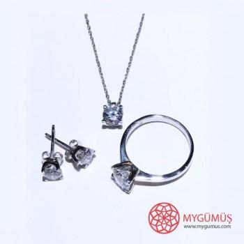 Tektaş Gümüş Set MY102068