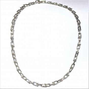 U Zincir Gümüş Kolye MY102337