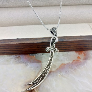 Zülfikar Gümüş Kolye MY101872