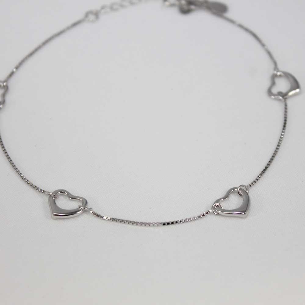 Kalpli Gümüş Halhal Silver MY101110 7630 Thumb