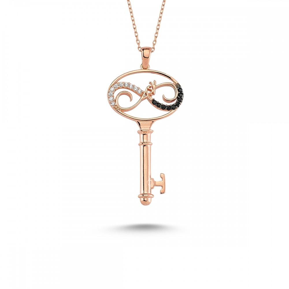 Aşkın Anahtarı Gümüş Kolye MY101126 7758 Thumb