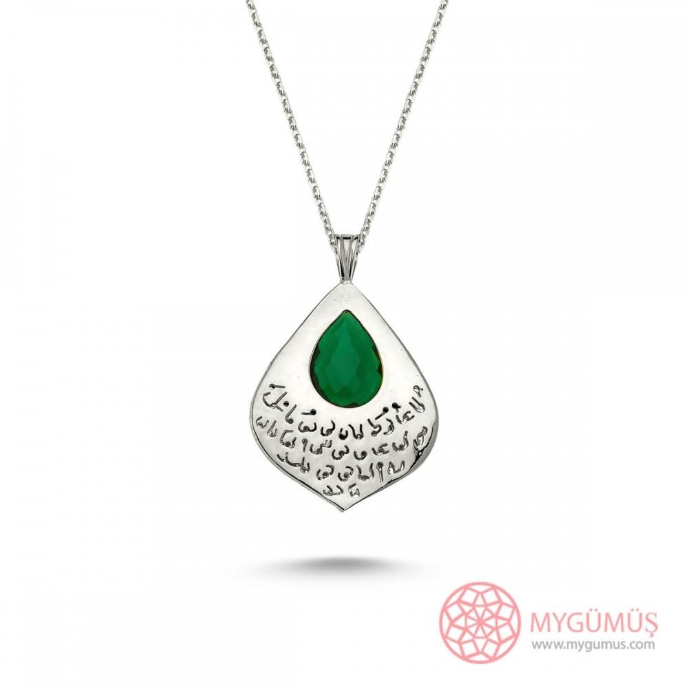 Tesir Naz'zar Gümüş Kolye MY101273 8878 Thumb