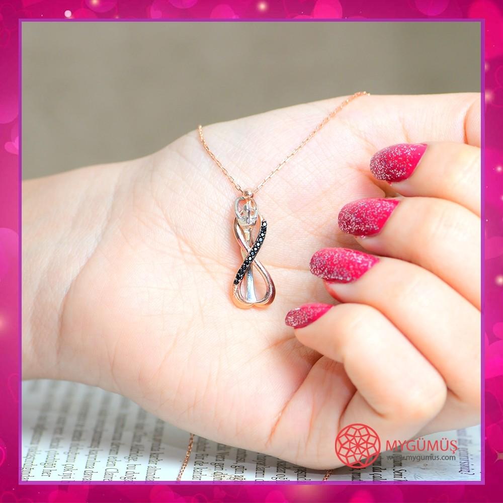 Sonsuz Aşk Gümüş Kolye MY0301036S 10700 Thumb