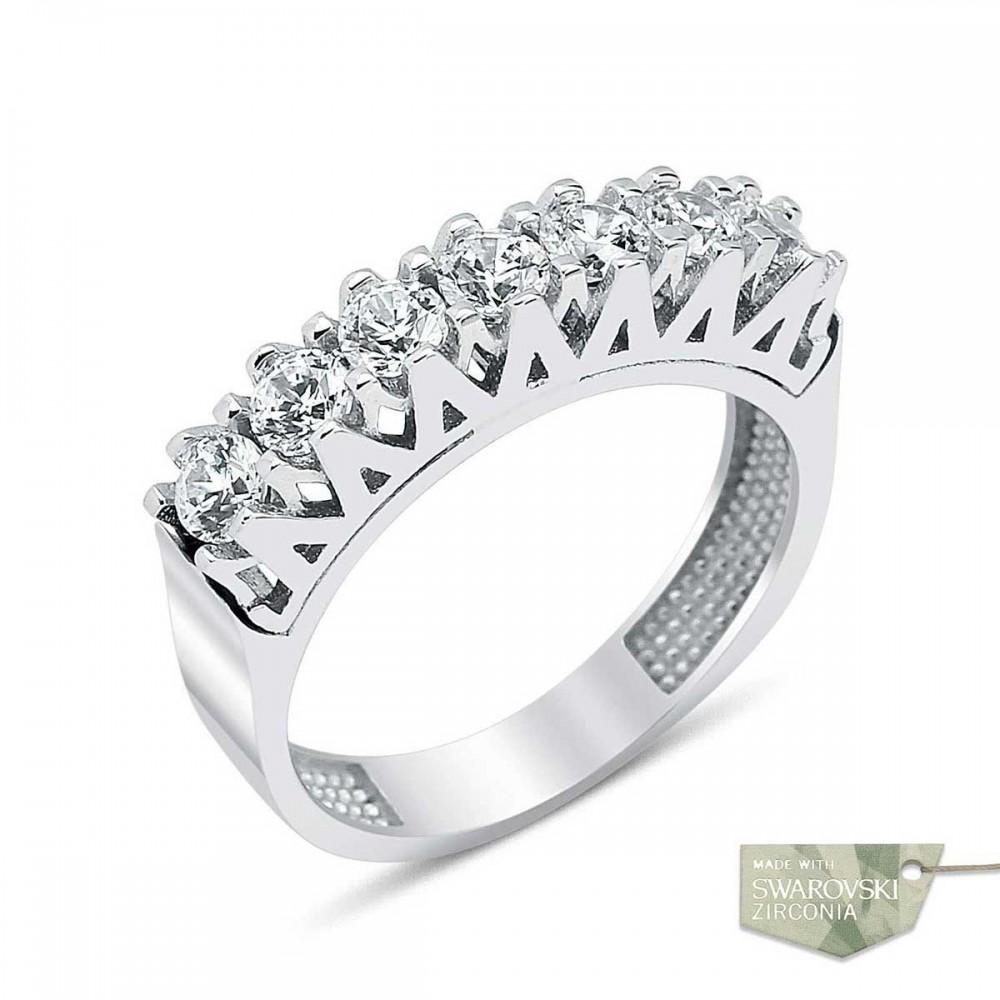Swarovski Gümüş Yeditaş Yüzük MY100020 9404 Thumb