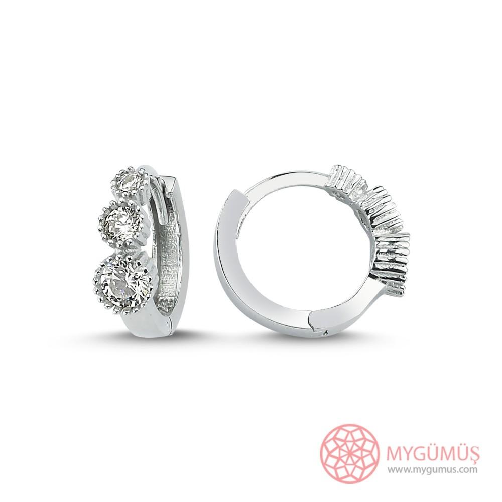 Demet Halka Gümüş Küpe MYG054 9995 Thumb