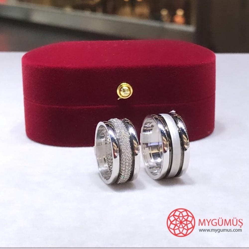 Gümüş Alyans MYA1001 11521 Thumb