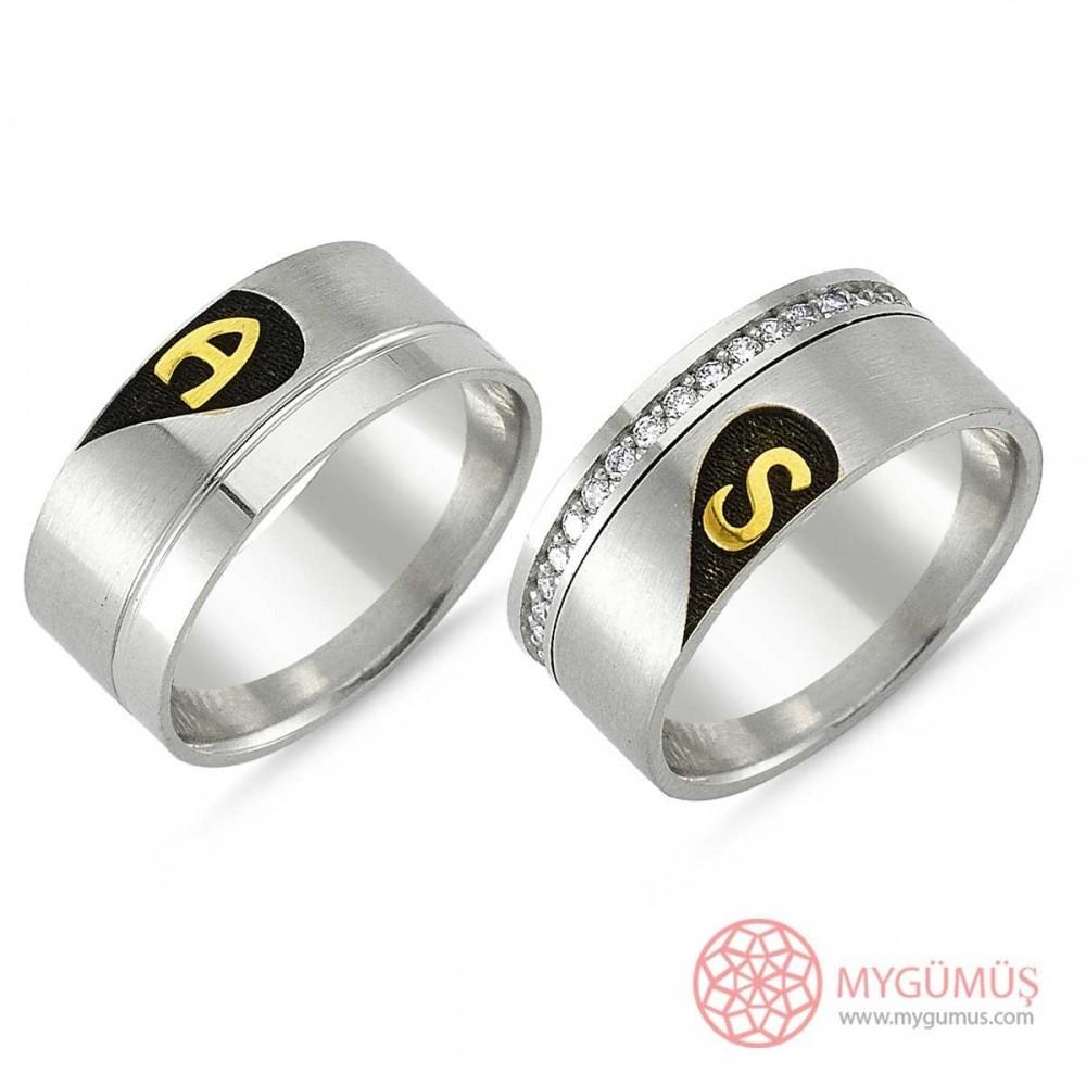 Gümüş Alyans MYA1002 9306 Thumb
