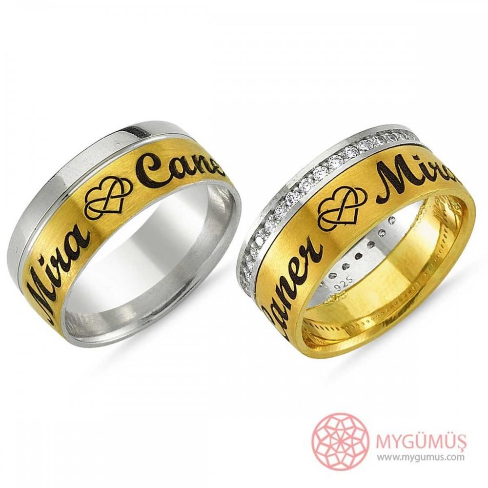 Gümüş Alyans MYA1003 9312 Thumb