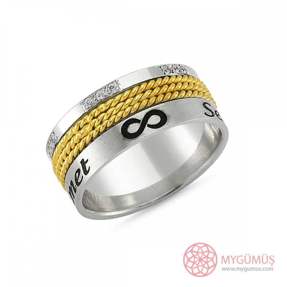 Gümüş Alyans MYA1008 9325 Thumb