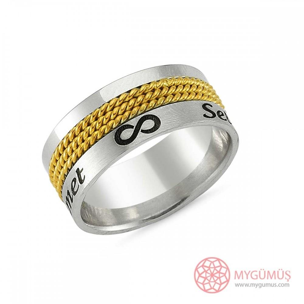 Gümüş Alyans MYA1008 9326 Thumb