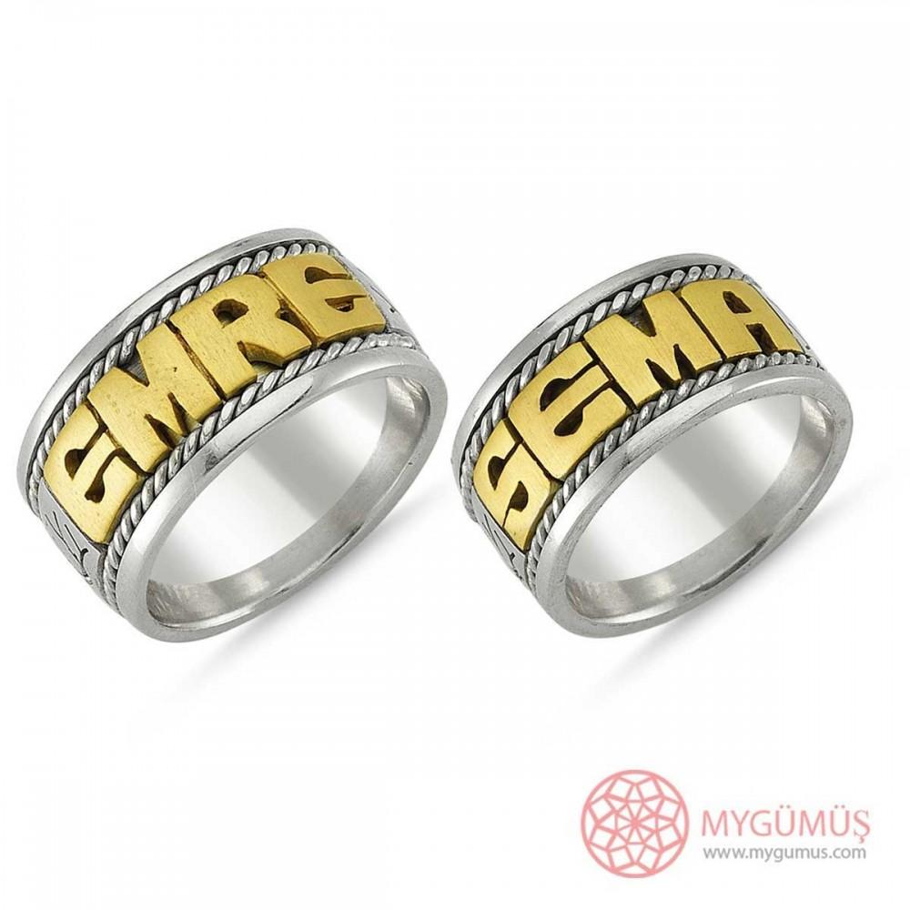 Gümüş Alyans MYA1009 9327 Thumb