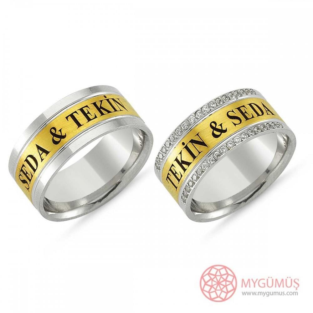 Gümüş Alyans MYA1011 9297 Thumb