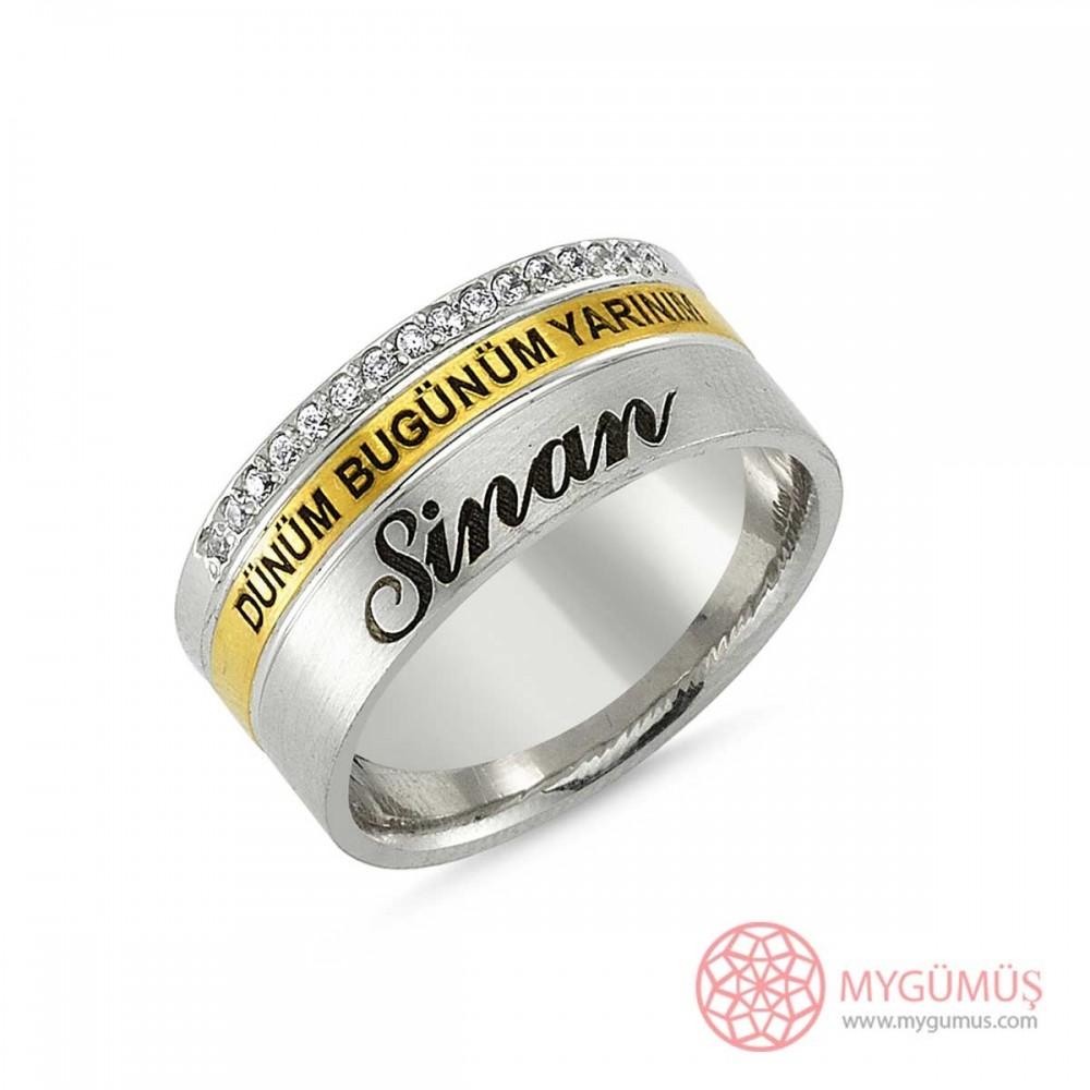 Gümüş Alyans MYA1013 9304 Thumb