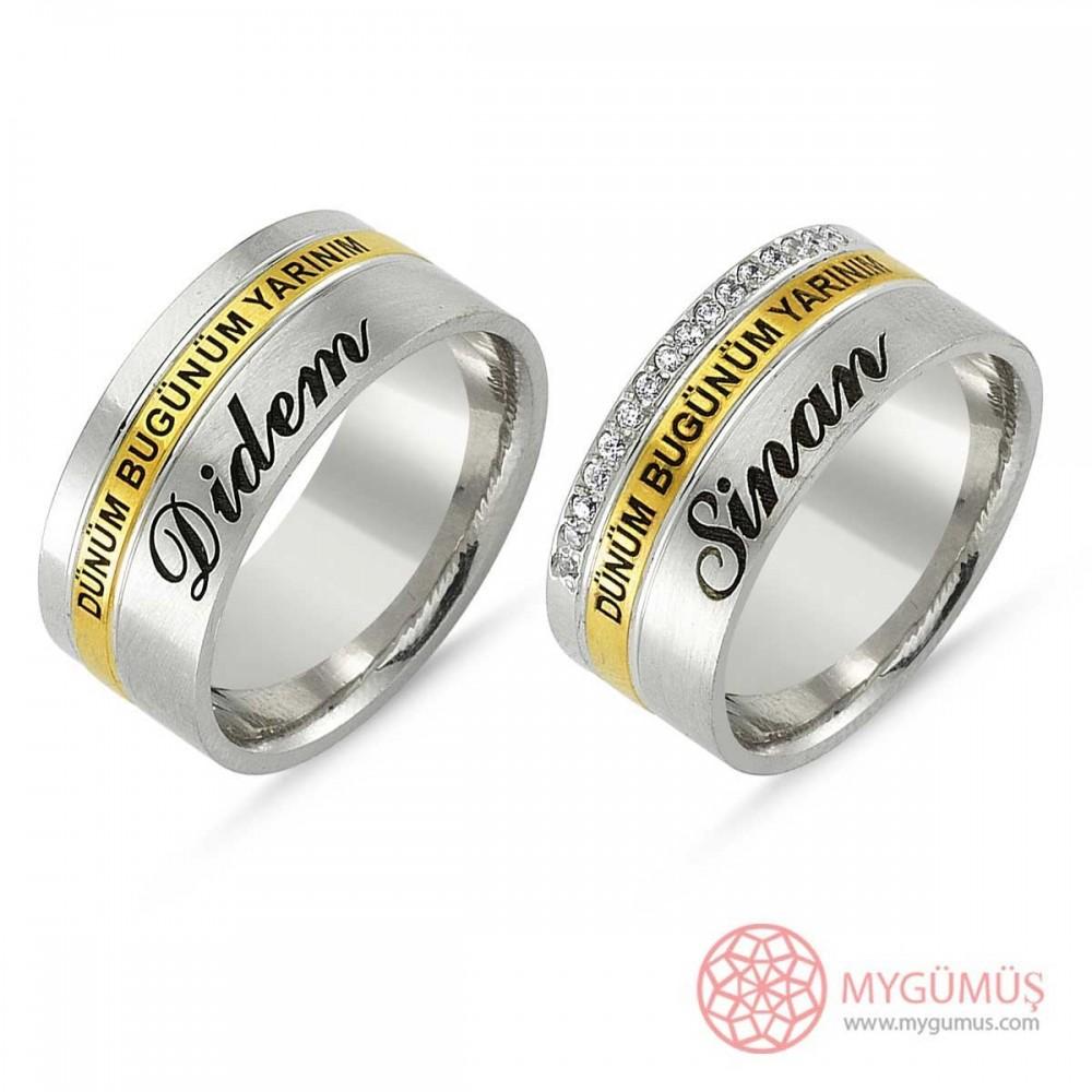 Gümüş Alyans MYA1013 9305 Thumb