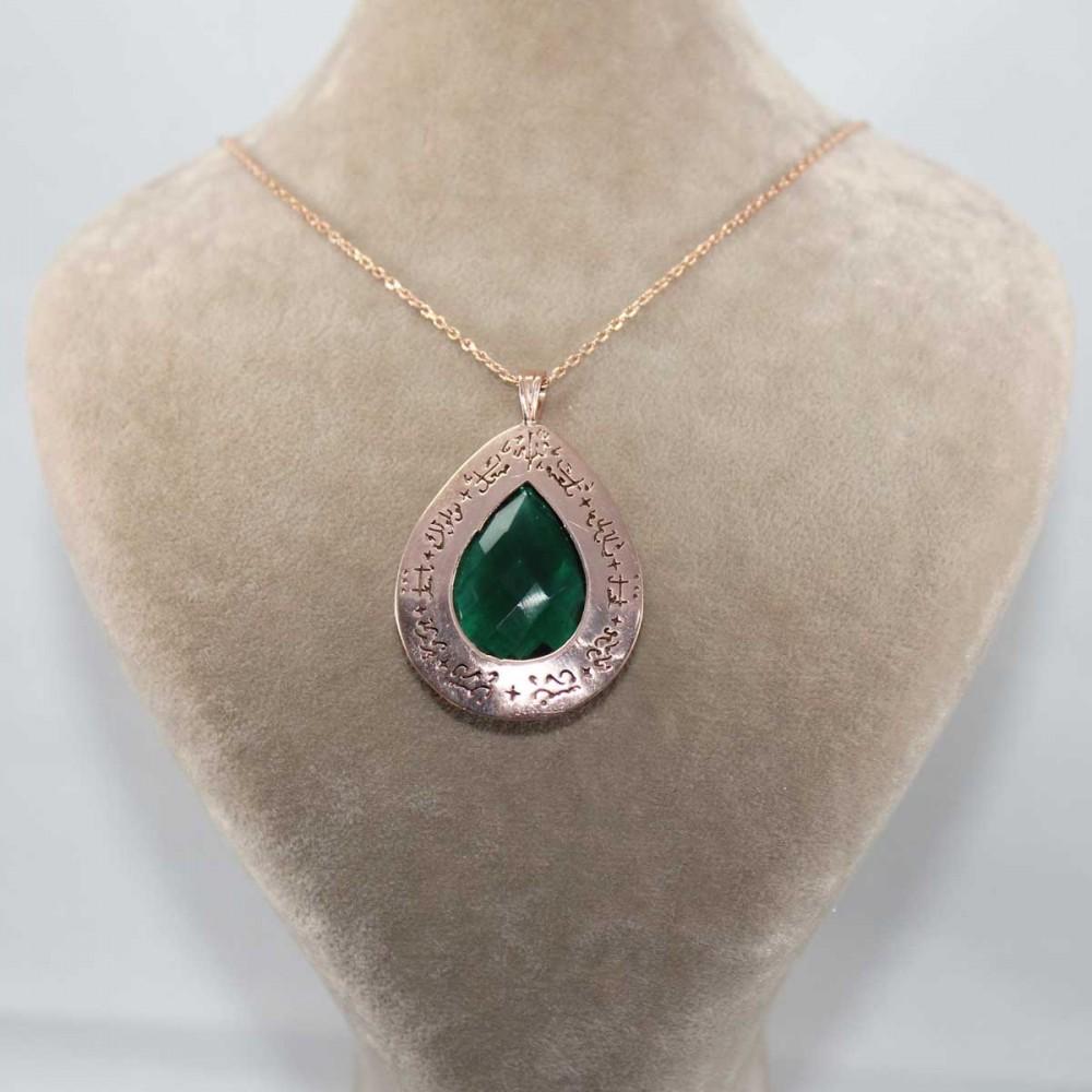 Tesir Naz'zar Gümüş Kolye MY101296 8910 Thumb
