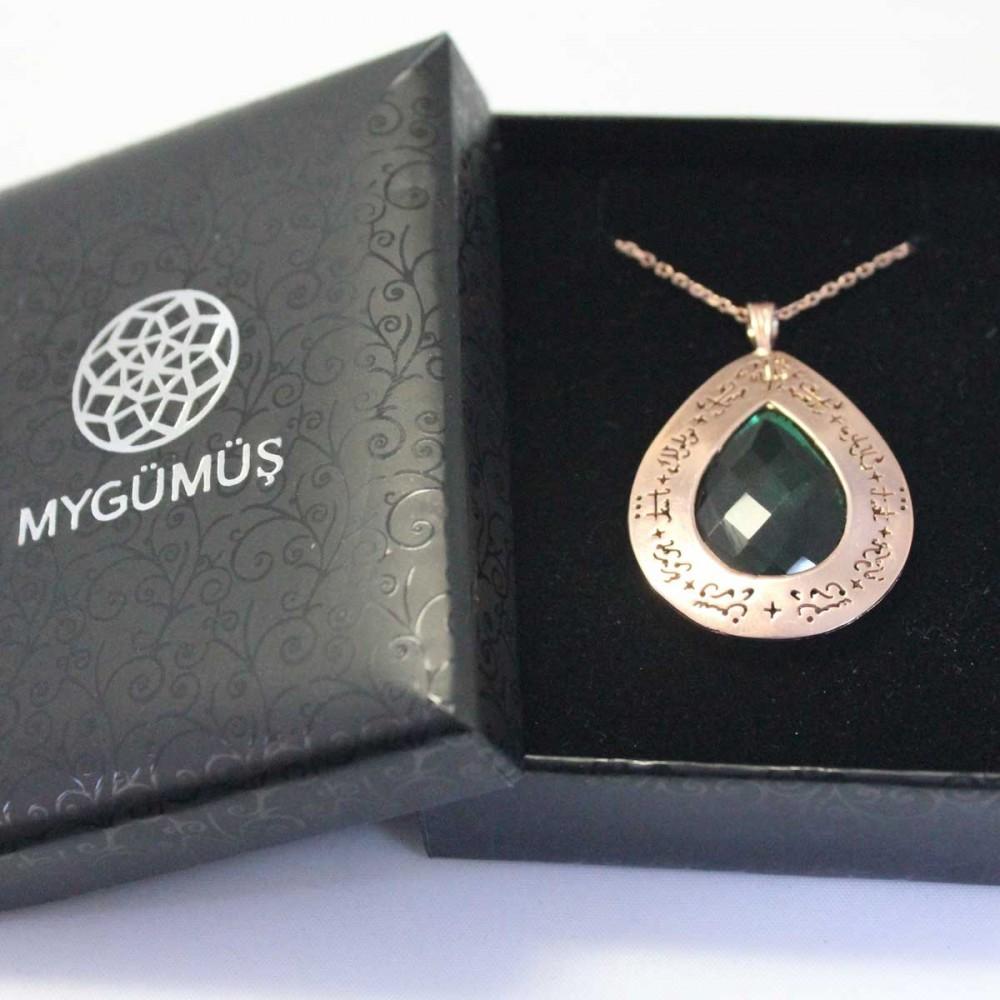 Tesir Naz'zar Gümüş Kolye MY101296 8911 Thumb