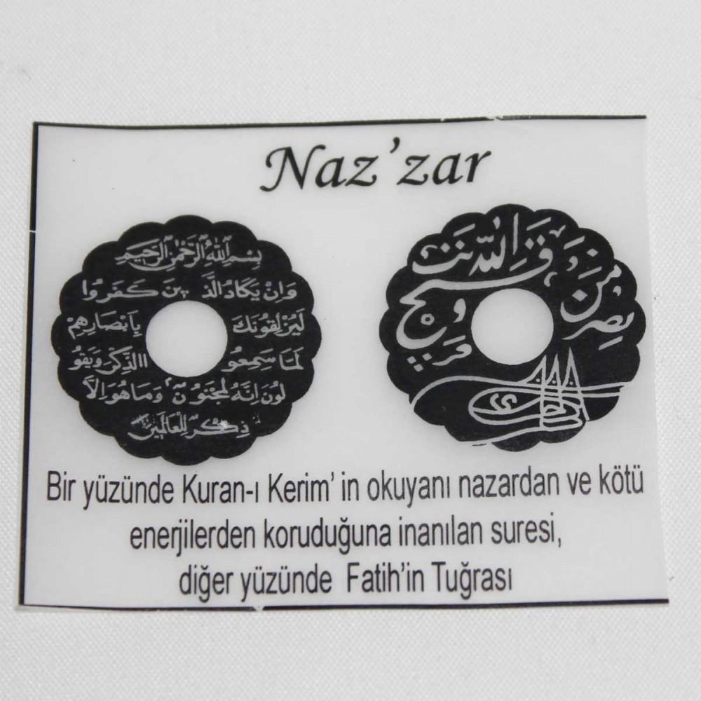Tesir Naz'zar Gümüş Kolye MY101294 9041 Thumb