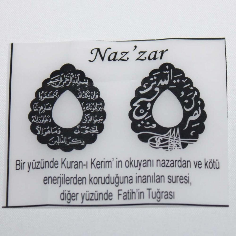 Tesir Naz'zar Gümüş Kolye MY101275 9042 Thumb