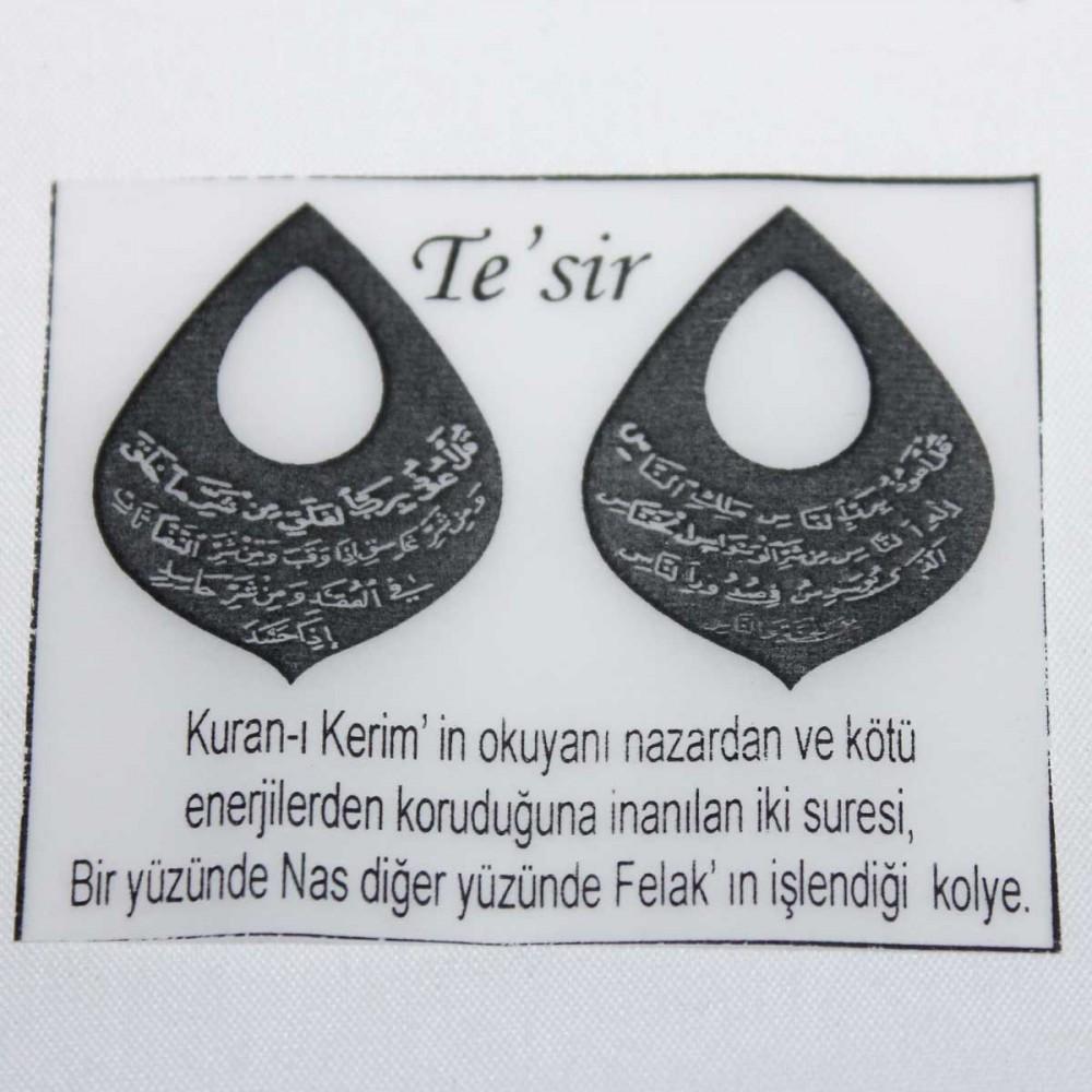 Tesir Naz'zar Gümüş Kolye MY101273 9044 Thumb