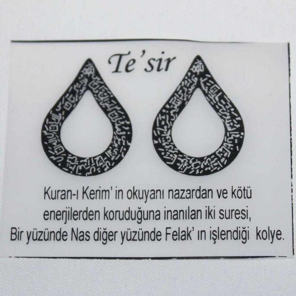 Tesir Naz'zar Gümüş Kolye MY101295 9040 Thumb
