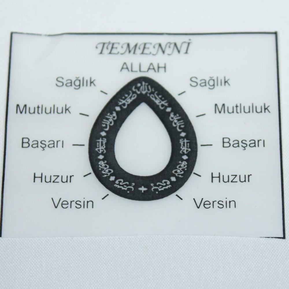 Tesir Naz'zar Gümüş Kolye MY101296 9039 Thumb