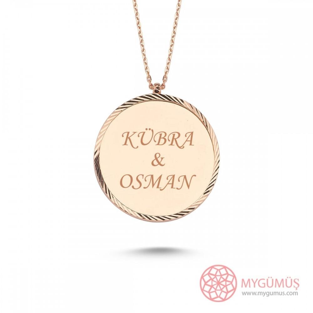 İsme Özel Elegant Gümüş Kolye MY101667 10034 Thumb