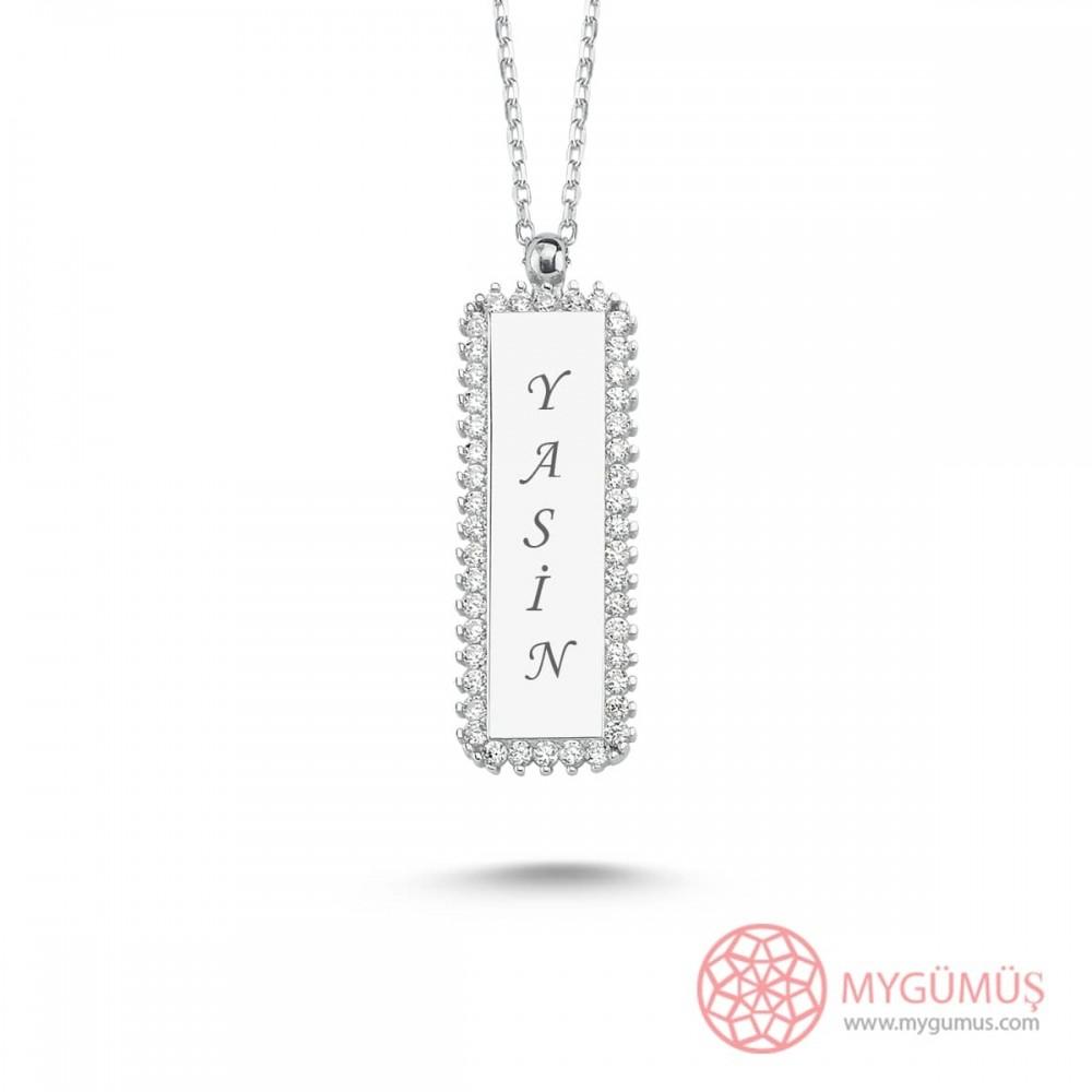 İsme Özel Nested Gümüş Kolye MY101498 9891 Thumb