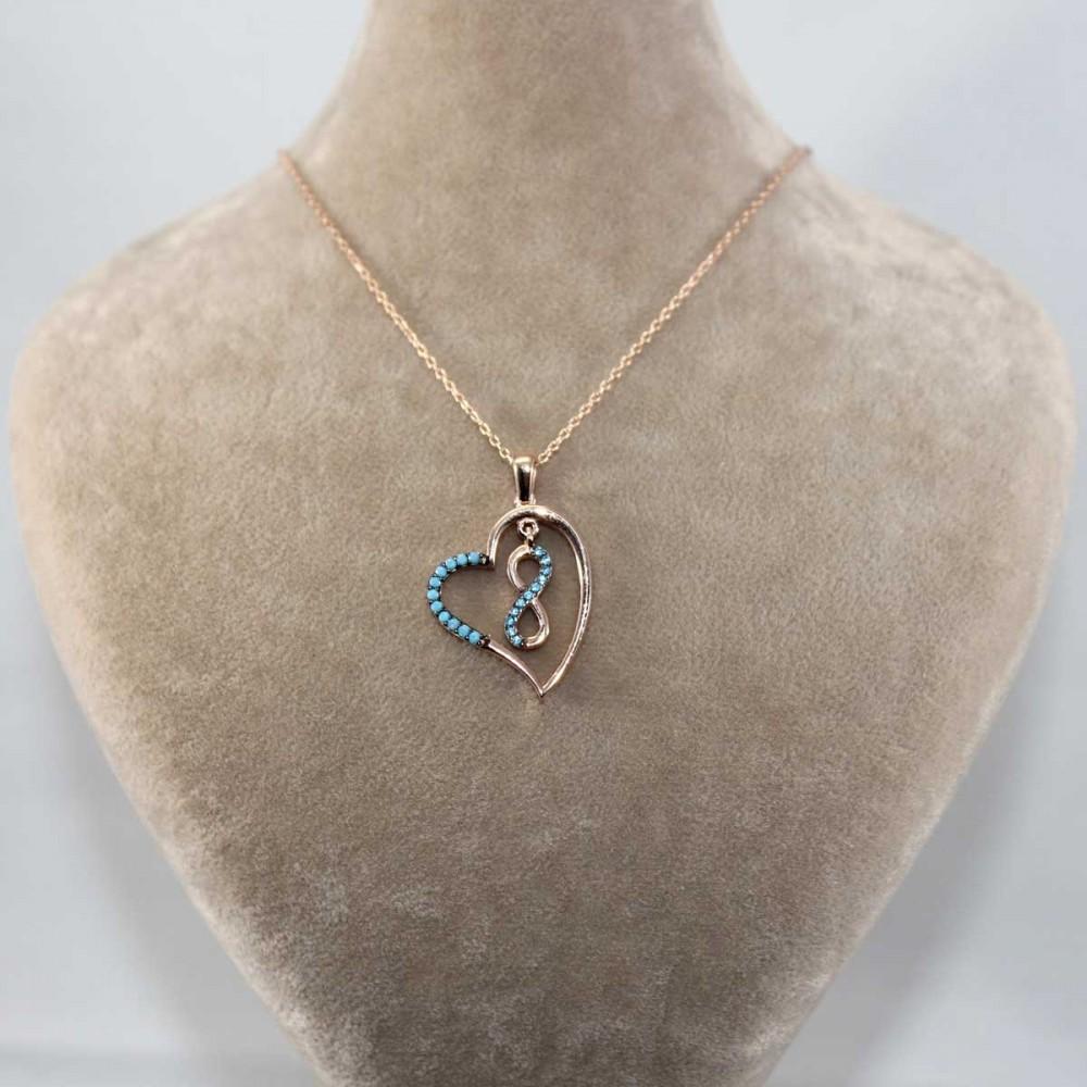 Kalbimin Sonsuzluğu Gümüş Kolye MY101254 8969 Thumb