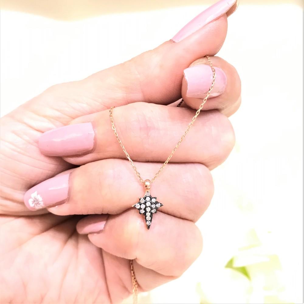 Kutup Yıldızı Gümüş Kolye MY101419 14808 Thumb