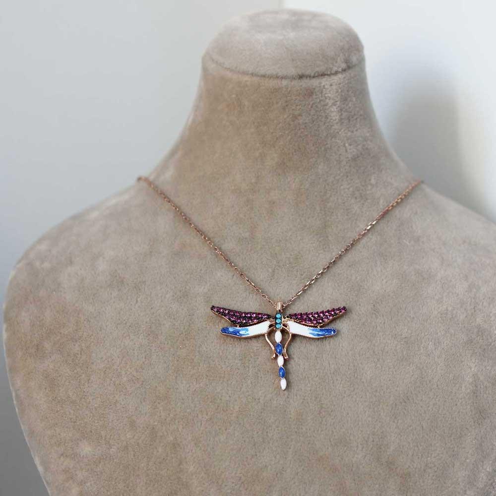Mineli Yusufçuk Gümüş Kolye MY0201019R 7263 Thumb