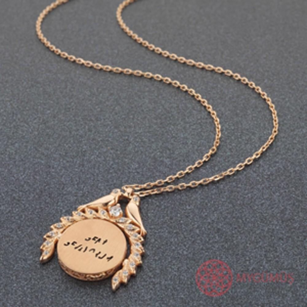 Sihirli Sevgi İsimli Gümüş Kolye MY101449 9848 Thumb
