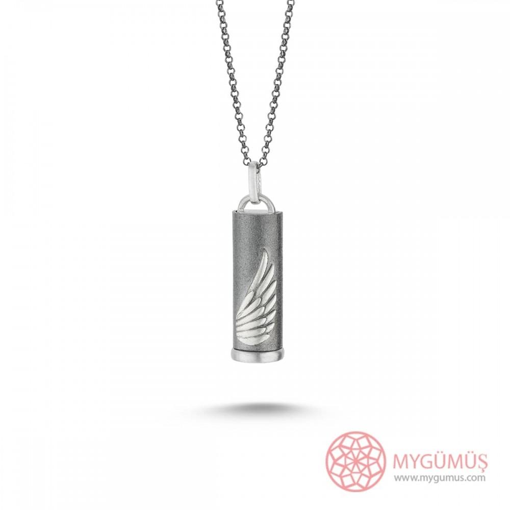 İsme Özel Nested Sihirli Erkek Gümüş Kolye MY101400 9825 Thumb