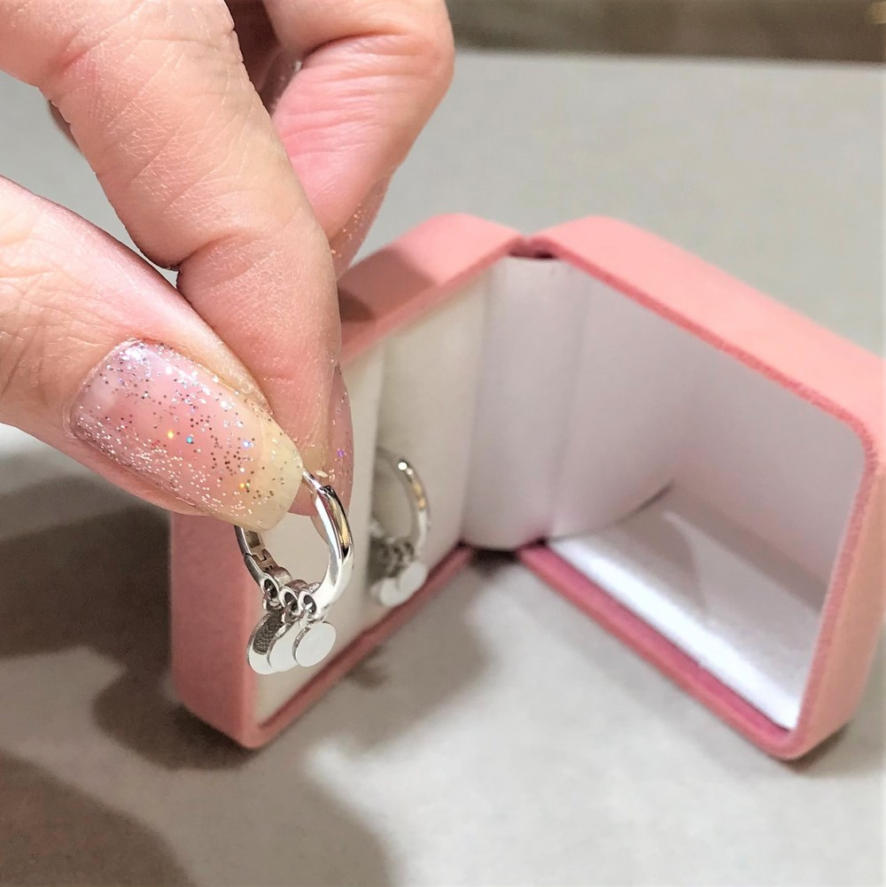 Özel Tasarım Halkalar Gümüş Küpe MY100108 14339 Thumb