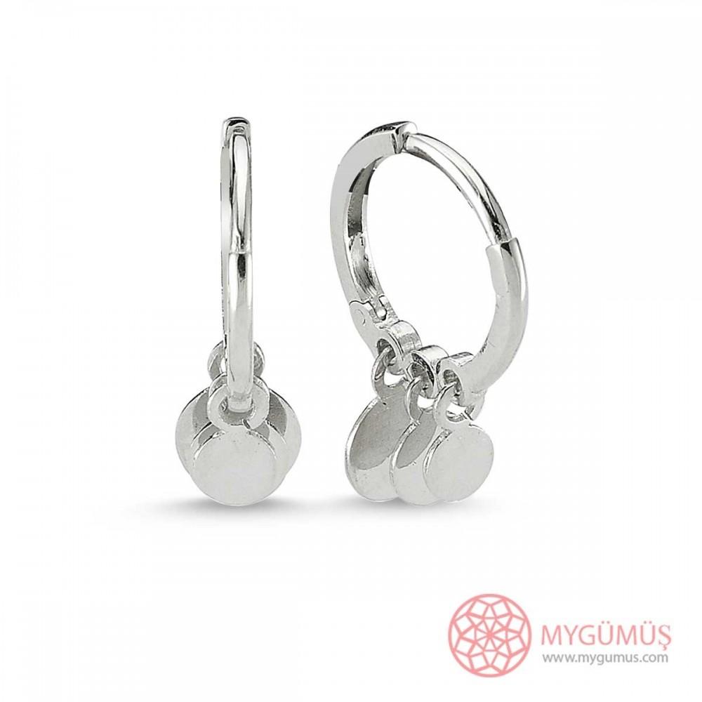 Özel Tasarım Halkalar Gümüş Küpe MY100108 9094 Thumb