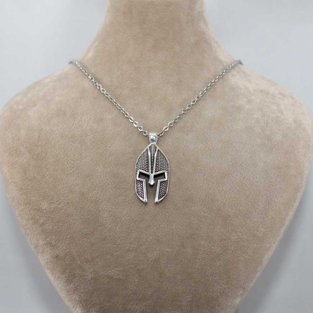Savaşçı Zırhı Erkek Gümüş Kolye MY01039 7786 Thumb