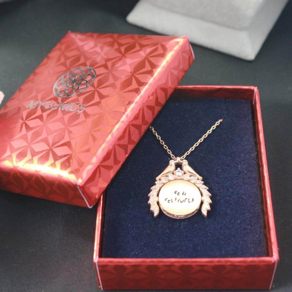 Sihirli Sevgi İsimli Gümüş Kolye MY101449 10401 Thumb