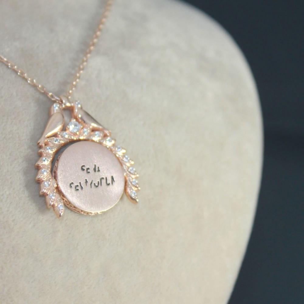 Sihirli Sevgi İsimli Gümüş Kolye MY101449 10398 Thumb