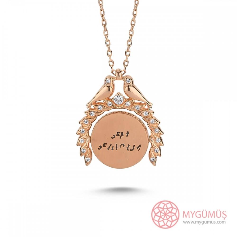 Sihirli Sevgi İsimli Gümüş Kolye MY101449 9814 Thumb