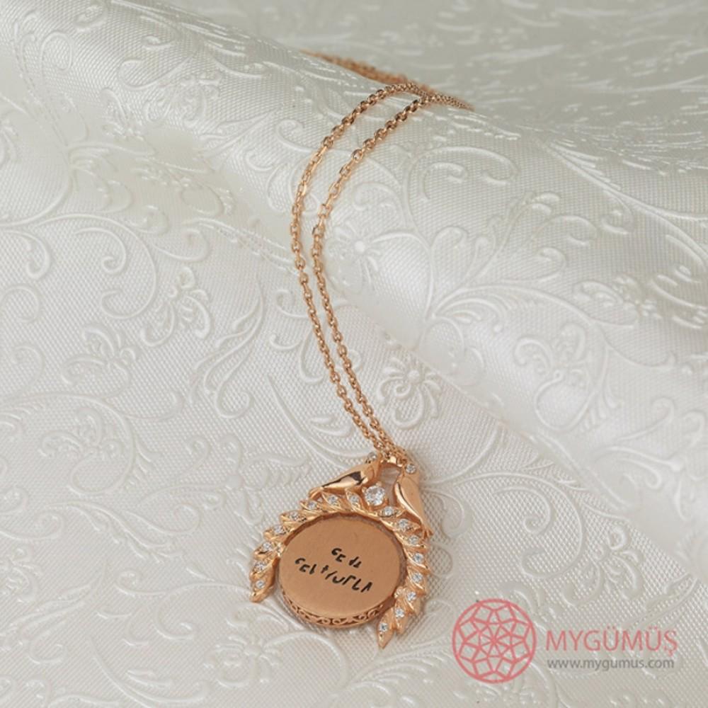 Sihirli Sevgi İsimli Gümüş Kolye MY101449 9831 Thumb