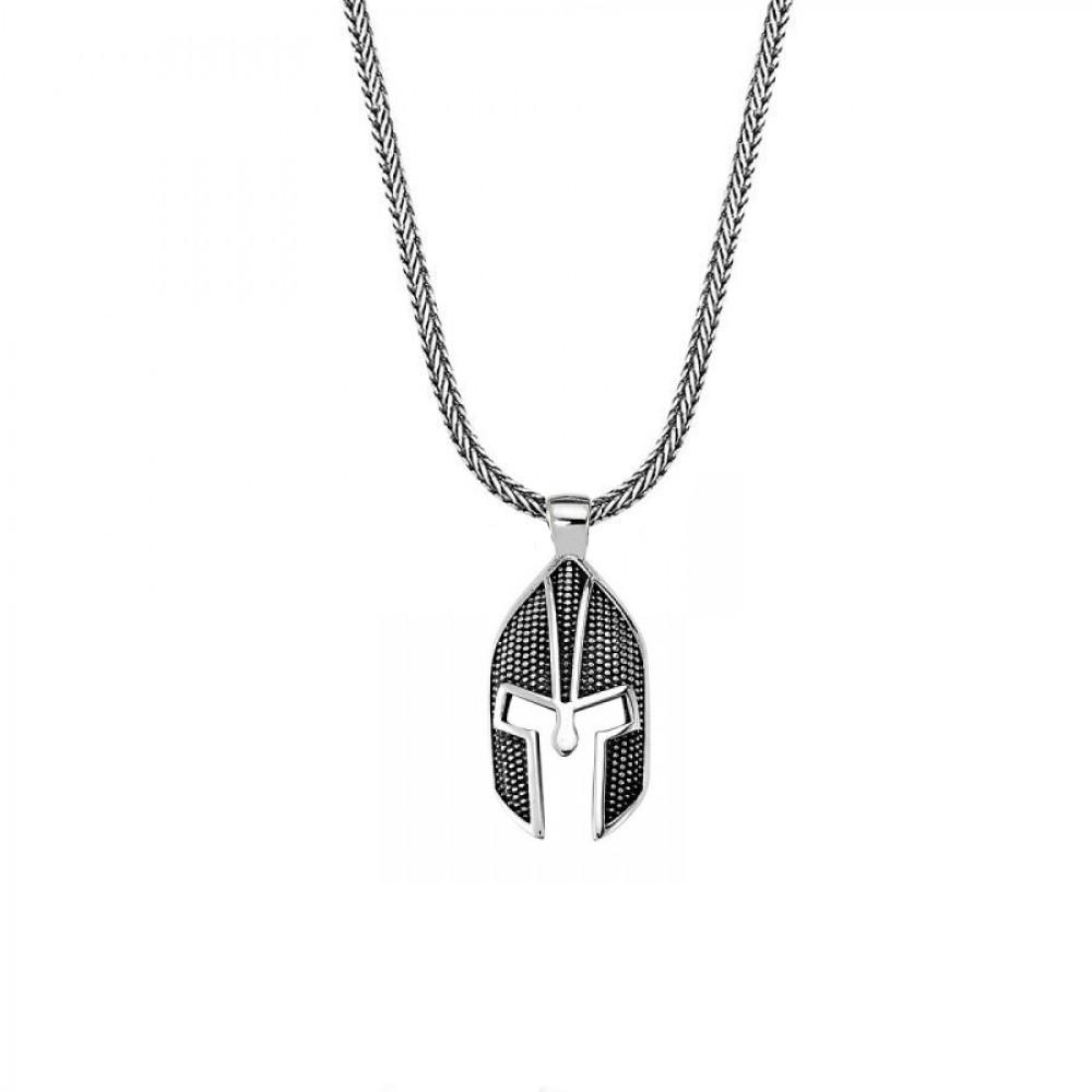 Savaşçı Zırhı Erkek Gümüş Kolye MY01039 11273 Thumb